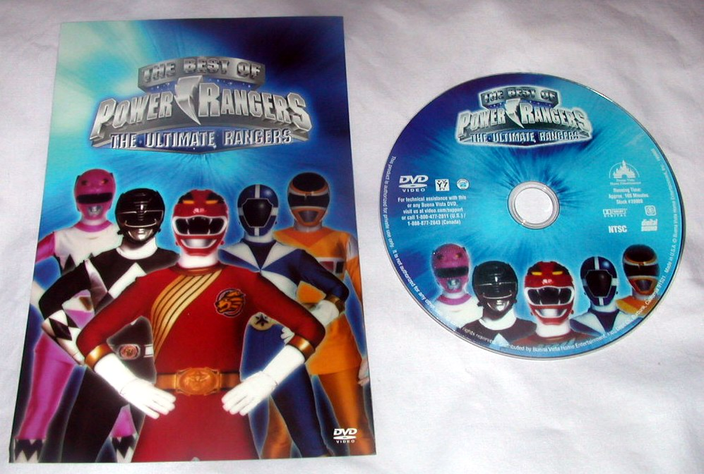 power ranger dvds