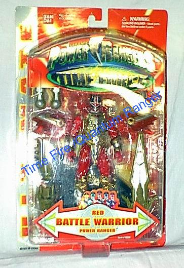 Power rangers time force red ranger figure